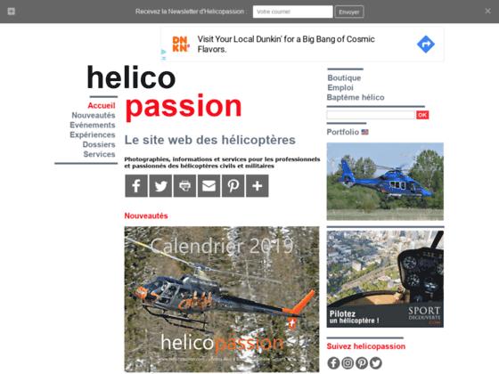 Photo image HELICO PASSION : La passion des hélicoptères
