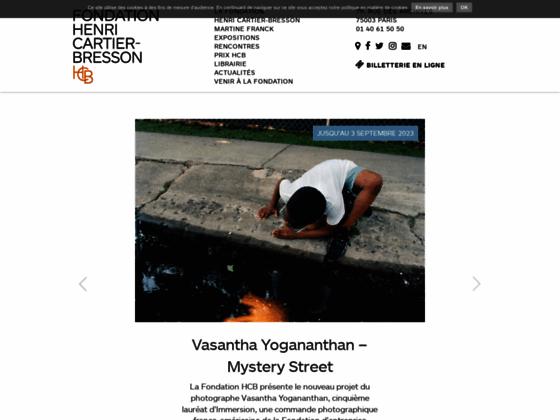 Photo image Fondation Henri Cartier-Bresson