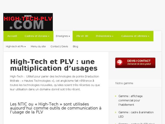 Détails : Outils PLV High-Tech