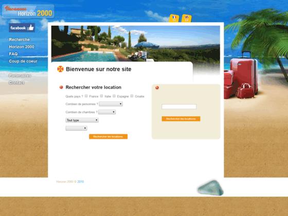 Détails : Agence de location de villas - Horizon 2000