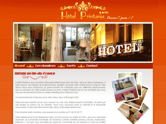 Hôtel Printania : Réservation hôtel Boulogne