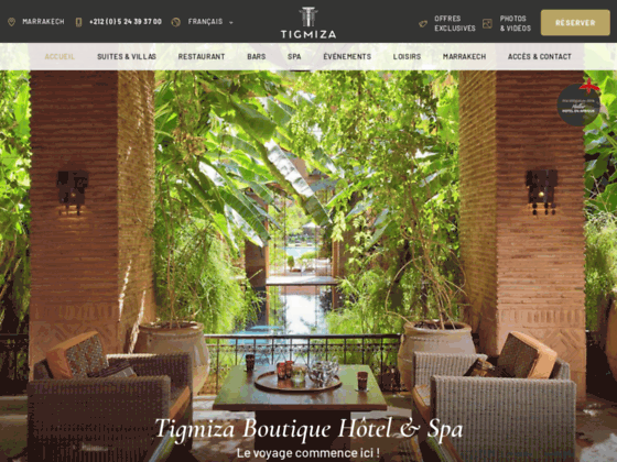 Détails : Hotel Tigmiza Marrakech