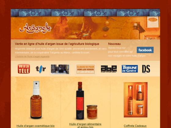 Détails : Vente en ligne d'huile d'argan bio