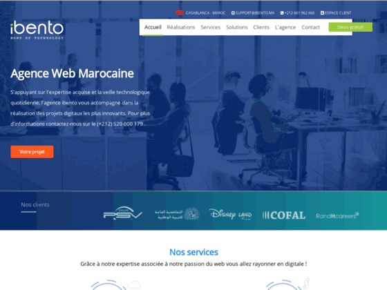 Détails : création de site web maroc