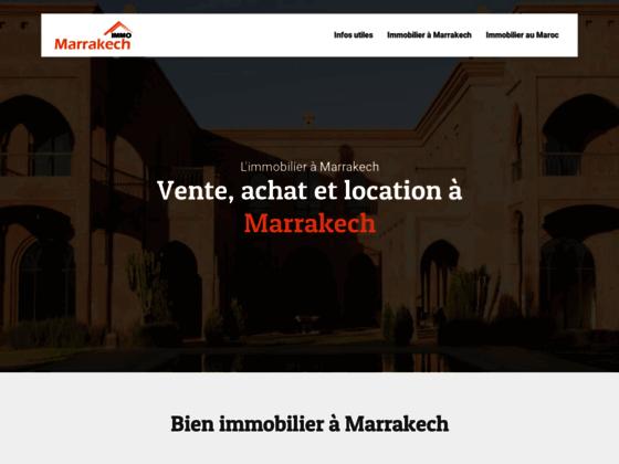 Détails : immobilier luxe marrakech