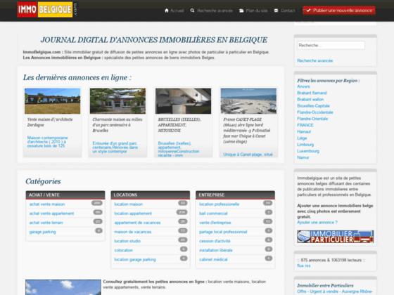 Photo image Immobilier Belgique - annonces