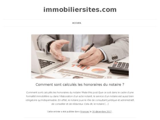 Détails : immobiliersites.com