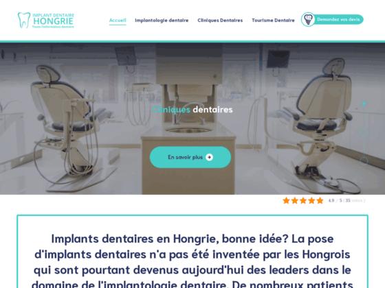 image du site http://implant-dentaire-hongrie.com