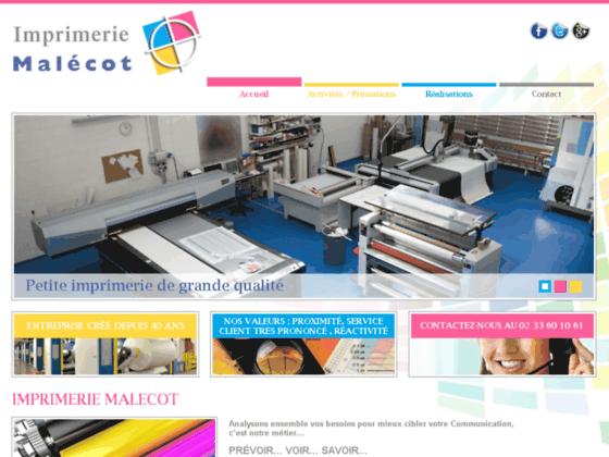 Détails : Imprimeur 35 - Imprimerie Malecot