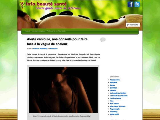 Détails : Info beauté santé