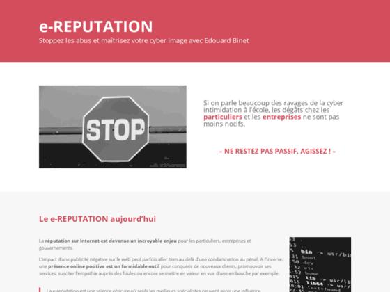 Détails : e-réputation
