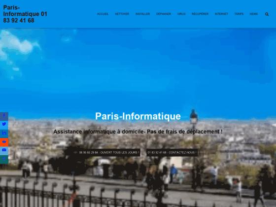 Dépannage ordinateur Paris