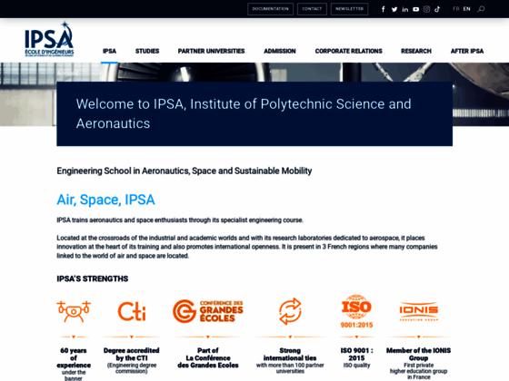 Photo image IPSA - Ecole d'aéronautique