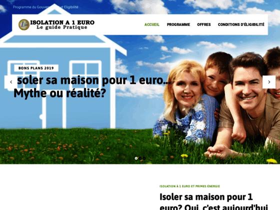 image du site https://isolation-a-1-euro-gouv.org