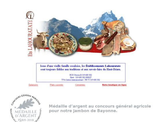 Photo image Boucherie Charcuterie Lahouratate, specialiste du jambon de Bayonne et du jambon des Pyrenees