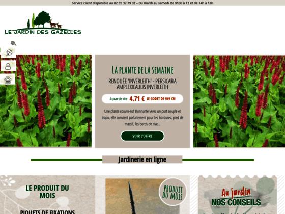 Détails : Jardinerie en ligne : Jardin des Gazelles