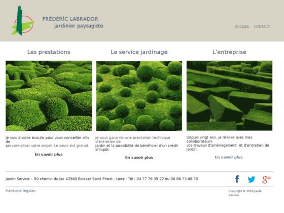 Photo image frederic LABRADOR - jardinier paysagiste