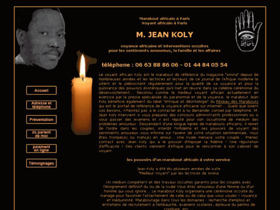image du site http://www.jean-koly.fr