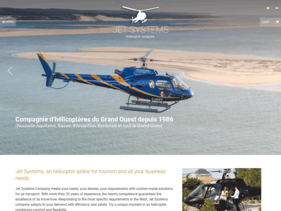 Photo image JET SYSTEMS-HELIOCEAN-helicoptere-bapteme d'helicoptere-location d'helicoptere-helicoptere sud ouest