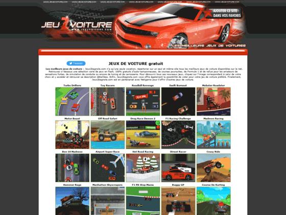 Détails : jeux flash de voiture