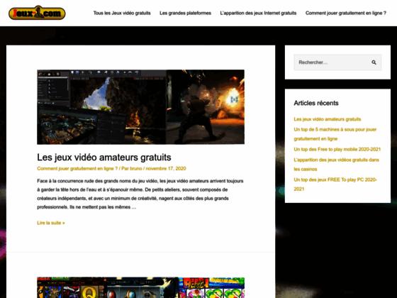 Détails : jeux en ligne