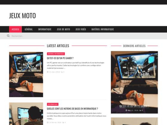 Détails : jeux de moto en ligne
