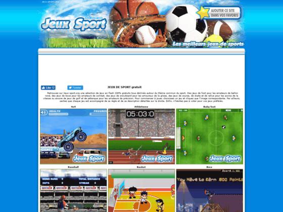 Détails : les jeux de sport