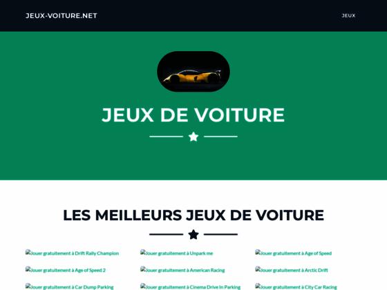 Détails : jeux voiture en ligne