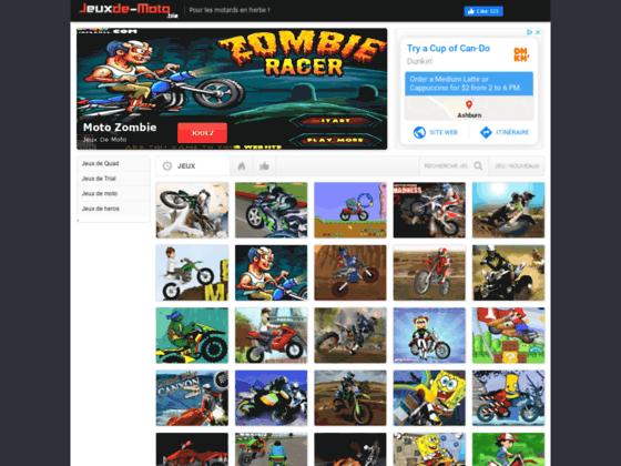 Détails : jeux moto en flash