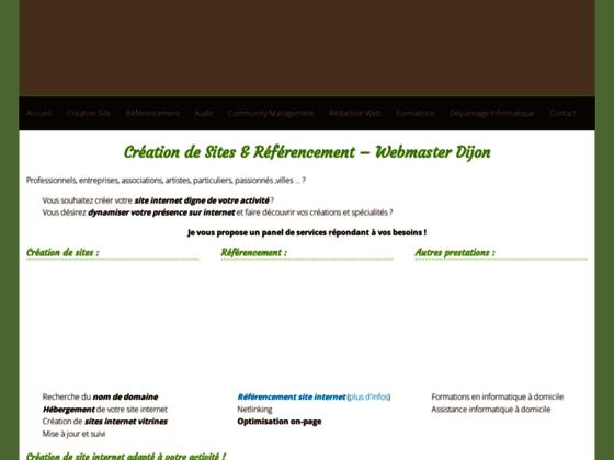 Détails : Référencement et création de sites