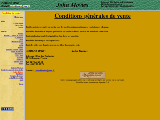 Photo image John Movies artisan sellier-bourrelier