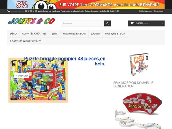 Détails : Boutique de jouets en bois - Jouets & Co