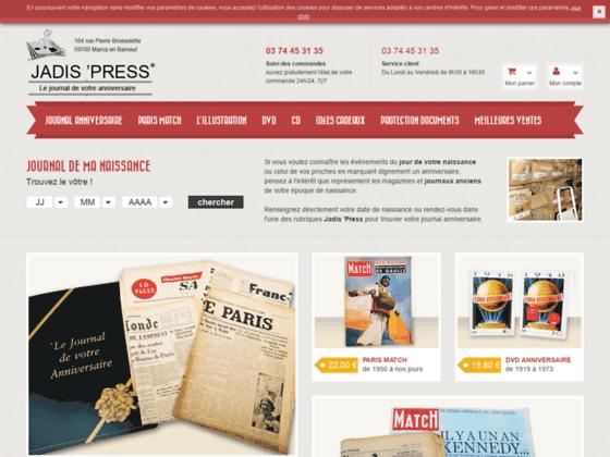 Détails : Vente de journaux anniversaires et revues d'époque
