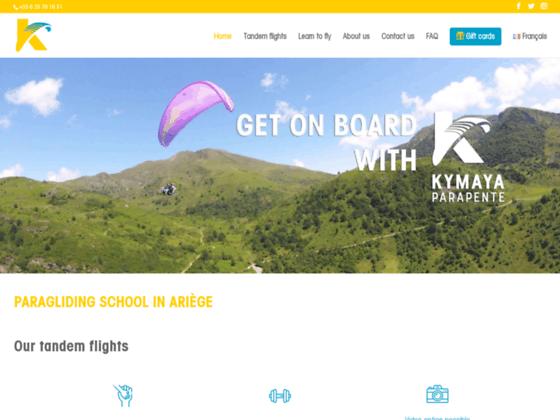 Photo image Kymaya Ecole de parapente | Ariege Toulouse | Bapteme  Stage Voyage