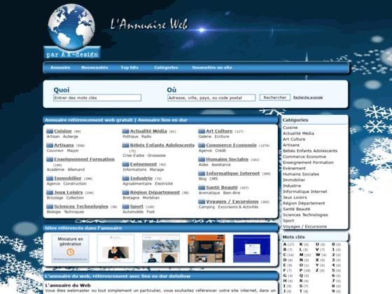 Détails : L'annuaire du web francophone