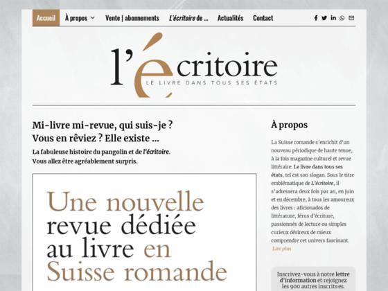 image du site http://www.l-ecritoire.ch