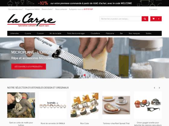 Détails : La Carpe : accessoires de cuisine de qualité