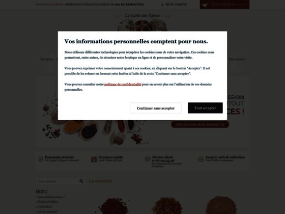 Détails : Vente d'épices