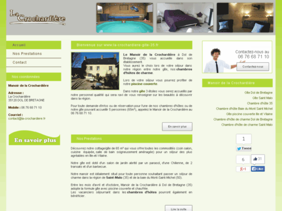 Détails : Gîte Dol de Bretagne