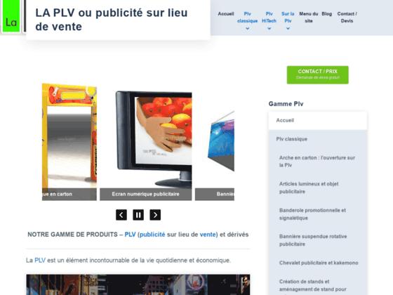 Détails : Les outils de PLV au service de votre marketing