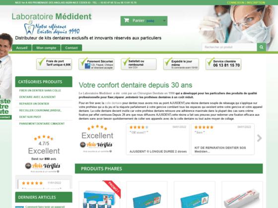 Laboratoire medident:distributeur de kits dentaires