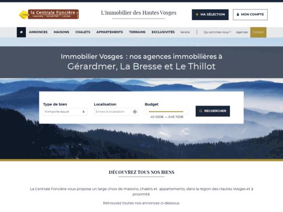 Détails : Agence immobilière dans les Vosges, La centrale foncière