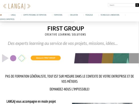 image du site https://www.langaj.fr