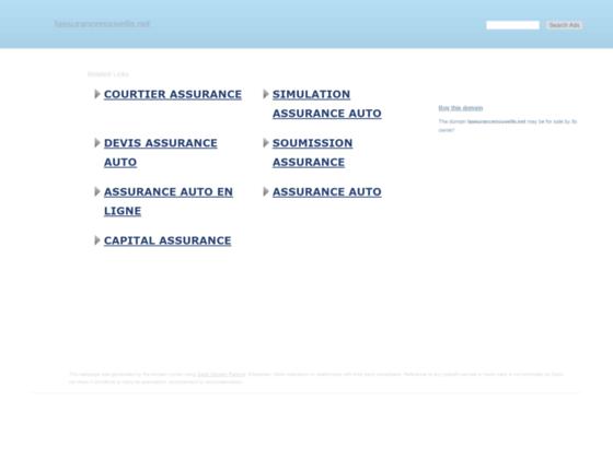 Détails : Assurance pour les contrats résiliés