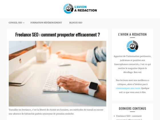 Rédaction SEO et référencement Québec