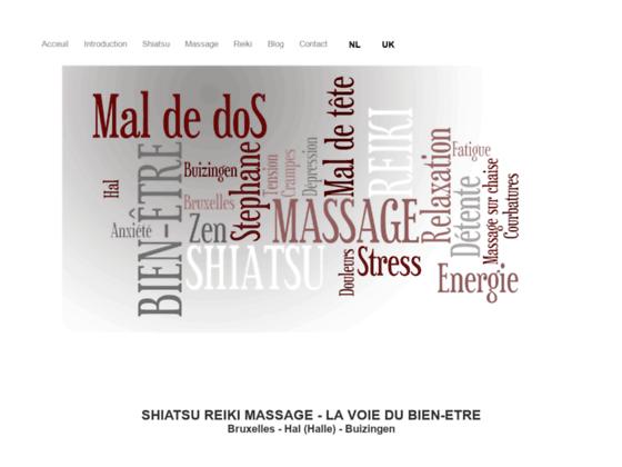 Détails : shiatsu, reiki, reflexologie, massage du dos,Bruxelles