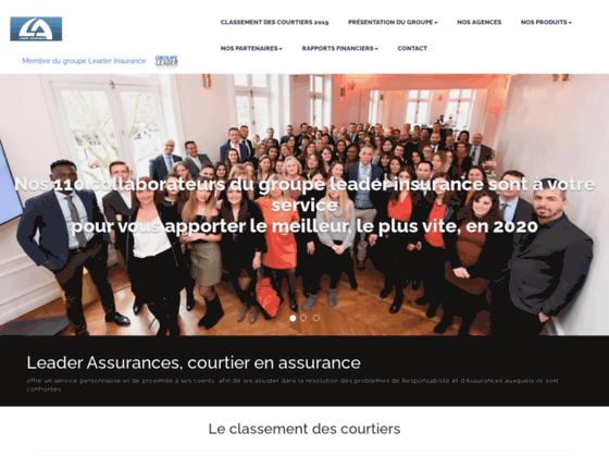 image du site https://www.leader-assurances.eu/