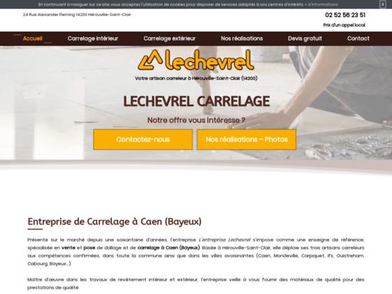 image du site https://www.lechevrel-carrelage-caen.fr/