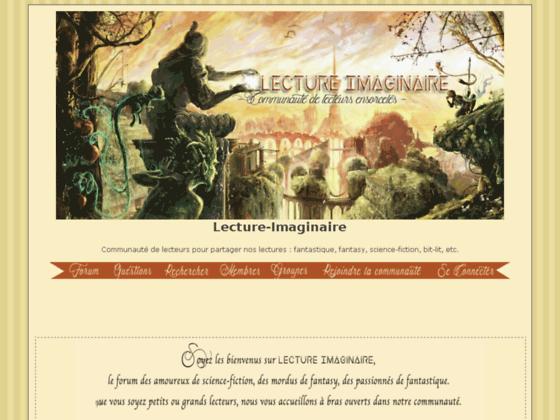 Détails : Lecture-Imaginaire