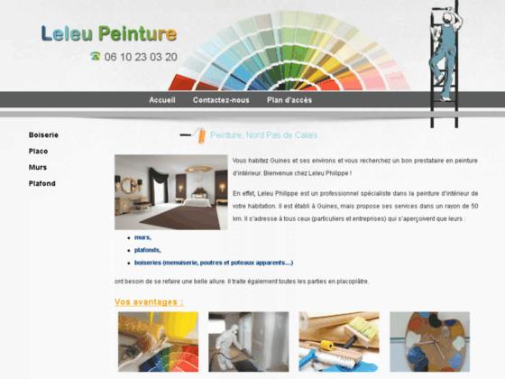 Détails : Peinture, peintre intérieur